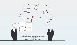 Análisis de la web: www.econosfron.com