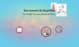 Baptisme