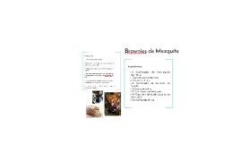 Galletas de Mezquite