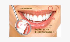 5500-212 English for the Dental Profession I
