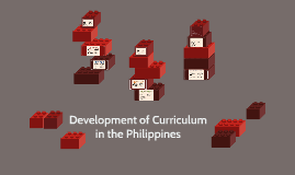 Copy of Development of Curriculum in the Philippines