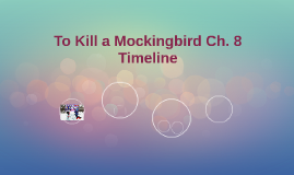 To Kill a Mockingbird Ch. 8 Timeline