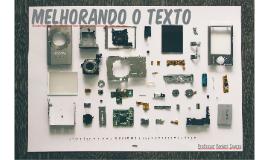 MELHORANDO O TEXTO