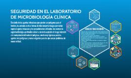 Copy of SEGURIDAD EN EL LABORATORIO DE MICROBIOLOGÍA CLÍNICA