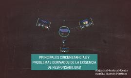 PRINCIPALES CIRCUNSTANCIAS Y PROBLEMAS DERIVADOS DE LA EXIGE