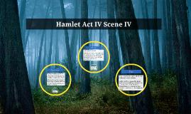 Hamlet Act IV Scene IV