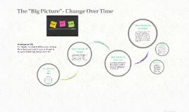 Change Over Time- Kindergarten (SOL-History/K.2)