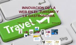 INNOVACION DE LA WEB Y EL TURISMO