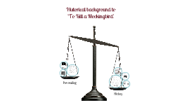 Copy of Historical background to 'To Kill a Mockingbird'