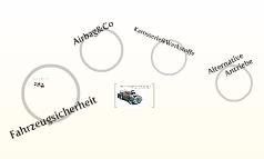 Moderne Fahrzeugtechnologie