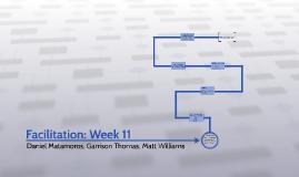 Facilitation: Week 11