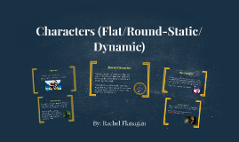 Literary Character Analysis Lesson Plans