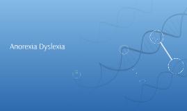 anorexia dyslexia