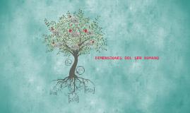 Copy of DIMENSIONES DEL SER HUMANO