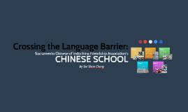 CHINESE SCHOOL 我爱中国