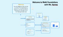 69. Math Foundations