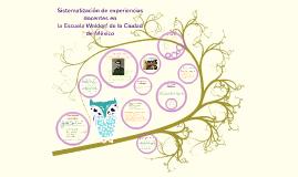 Sistematización de experiencias docentes en
