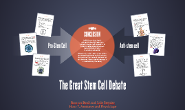 The Great Stem Cell Debate