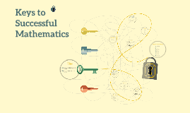 Keys to Successful Mathematics