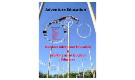 Copy of Adventure Education Facilitator Training