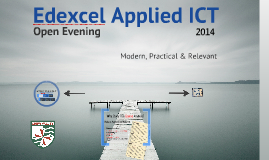 applied ict edexcel coursework Gce as applied ict (edexcel) units 1-3 sample pages gce applied ict sample pages from unit 1 (pdf, 291 kb) gce applied ict sample pages from unit 3 (pdf, 396 kb.