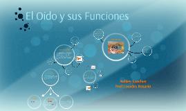 Copy of El Oido y sus Funciones