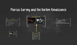 Marcus Garvey and the Harlem Renissance
