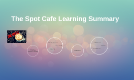 The Spot Cafe Learning Summary