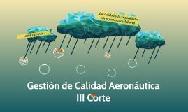 Gestión de Calidad Aeronautica.
