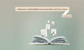 Copy of Positivismo y La falseabilidad