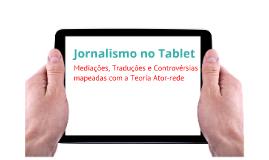 Jornalismo no Tablet