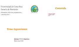Copy of Leguminosas