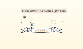 Comm Tech 1 Final Exam