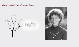 a look into mary louise pratts art of the contact zone