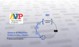 Gerencia de Relaciones Institucionales y Medios