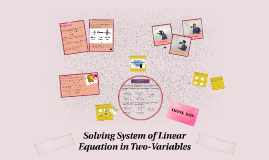 Copy of Solving System of Linear Equation in Two-Variables