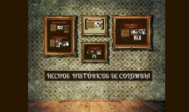 Copy of HECHOS  HISTÓRICOS DE BOGOTÁ