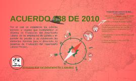 ACUERDO 138 DE 2010
