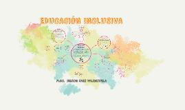 EDUCACIÓN INLCUSIVA