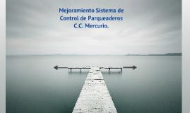 Control de Parqueaderos C.C. Mercurio