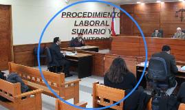 PROCEDIMIENTO LABORALSUMARIO Y MONITORIO