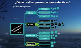 Copy of Consejos para realizar presentaciones efectivas