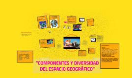 """""""COMPONENTES Y DIVERSIDAD DEL ESPACIO GEOGRÁFICO"""""""