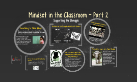 Mindset in the Classroom - Part 2
