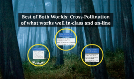 Best of Both Worlds: Cross-Pollination of what works well in
