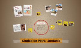 Ciudad de Petra- Jordania