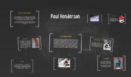 Copy of Paul Henderson