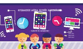 Gyerekek médiahasználata