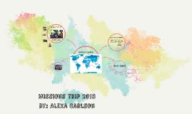 Missions trip 2018