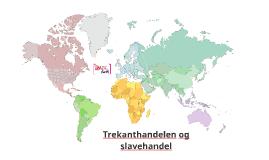 Trekanthandelen og slavehandel